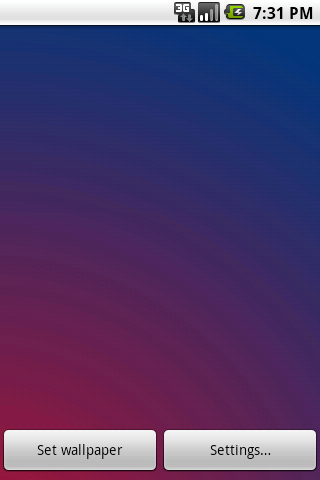 Color Gradient Live Wallpaper